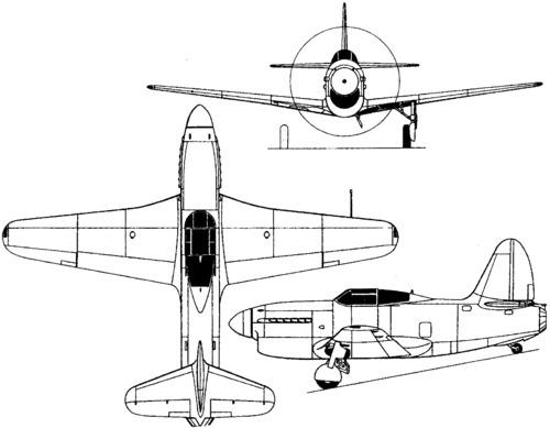 Sukhoi Su-5 (I-107) (1944)