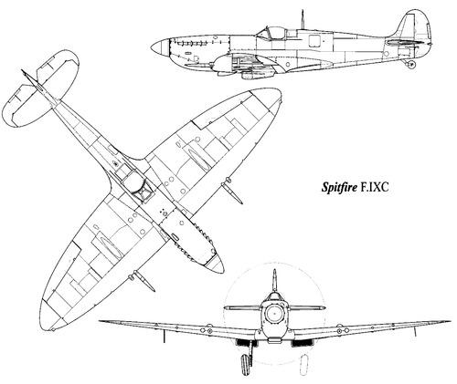 Supemarine Spitfire Mk. IXC