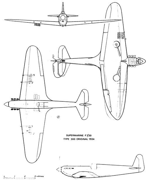 Supermarine F7-30 Type 300 (1934)