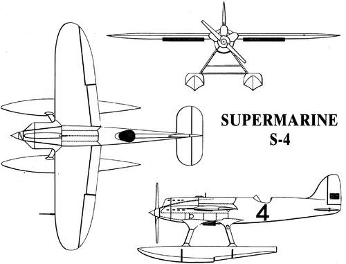Supermarine S.4 1925