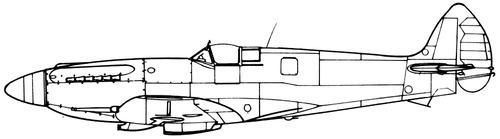 Supermarine Seafire F Mk.XV
