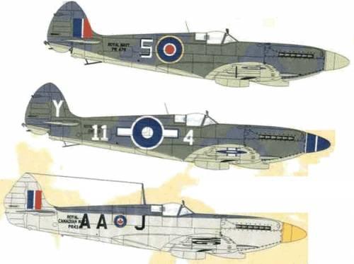 Supermarine Seafire F.XV