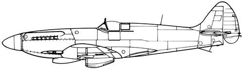 Supermarine Seafire FR.45