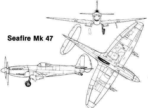 Supermarine Seafire Mk.47