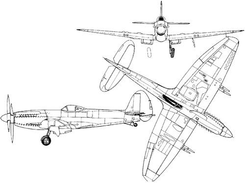 Supermarine Seafire Mk 47