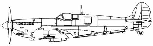 Supermarine Seafire Mk.II