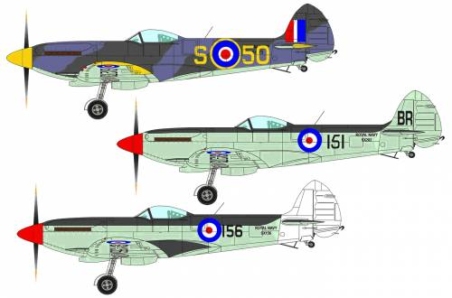 Supermarine Seafire Mk.XVII