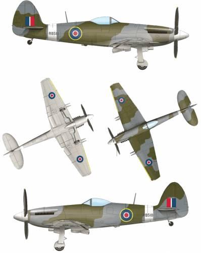 Supermarine Spiteful F.MK.14