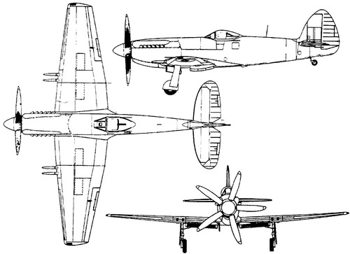 Supermarine Spiteful F.XIV