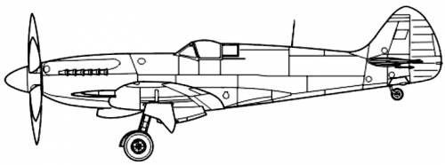 Supermarine Spitfire F Mk.21