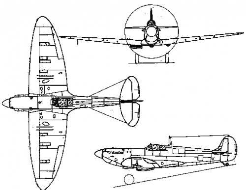 Supermarine Spitfire F Mk. II