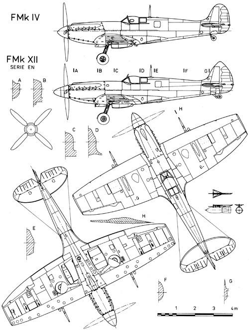 Supermarine Spitfire F. Mk.IV - XII