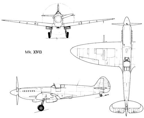 Supermarine Spitfire F Mk.XIVB