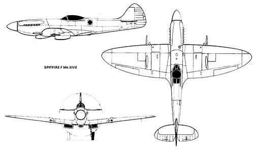 Supermarine Spitfire F Mk.XIVE