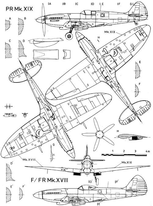 Supermarine Spitfire F Mk.XIX