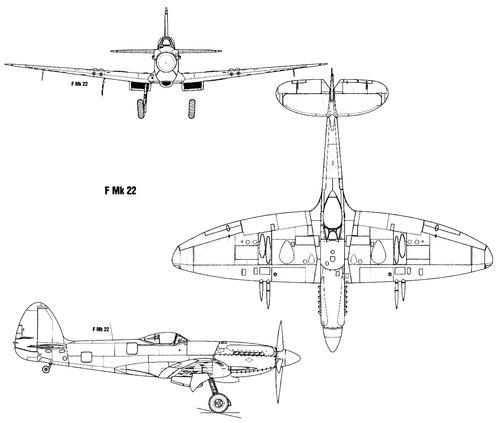 Supermarine Spitfire F Mk.XXII