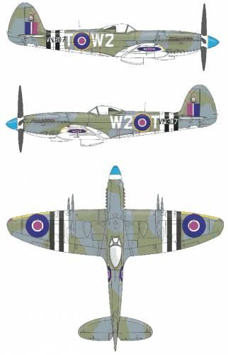 Supermarine Spitfire F Mk.XXIV