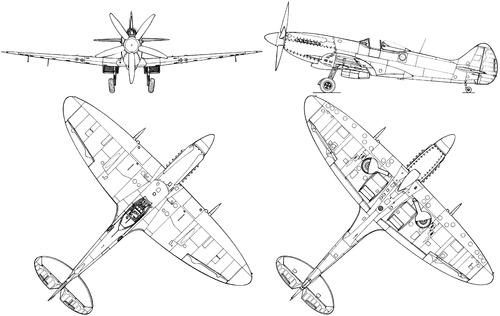 Supermarine Spitfire FR Mk.XIVE