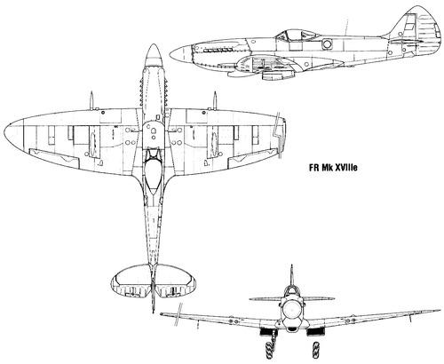 Supermarine Spitfire FR Mk.XVIIIE