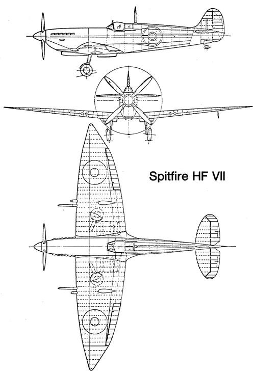 Supermarine Spitfire HF Mk.VII