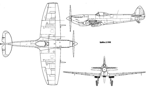 Supermarine Spitfire HF Mk.XVIE