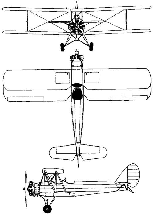 Tachikawa Ki-17 CEDAR (1935)