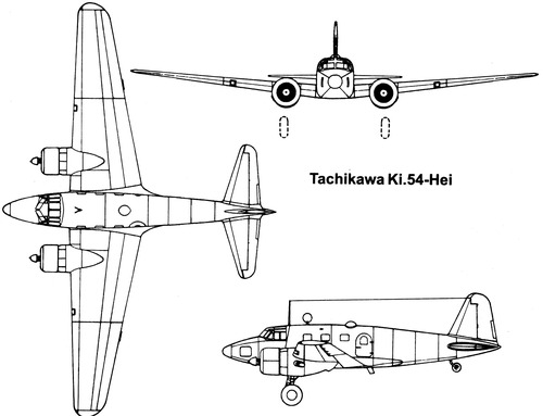 Tachikawa Ki-54-Hei [Hickory]