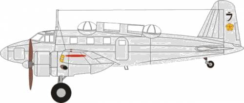 Tachikawa Ki-54D (Hickory)