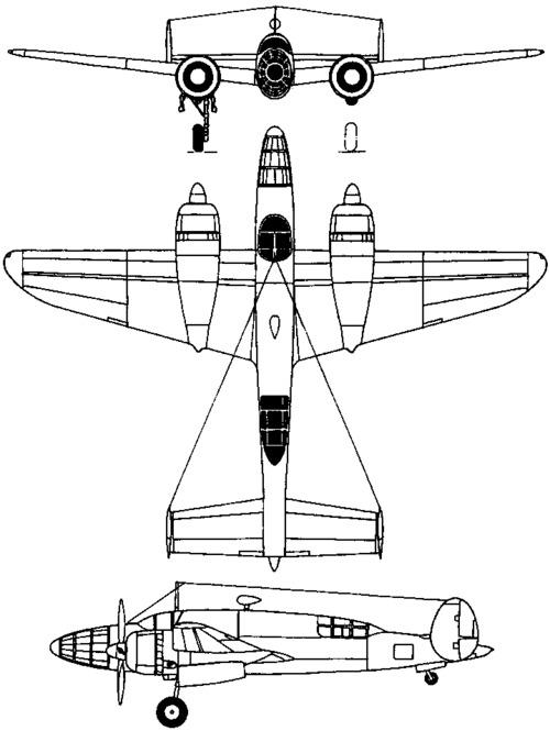 Tachikawa Ki-70 CLARA (1943)