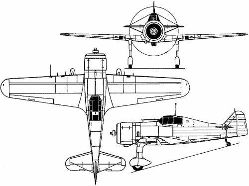 Fokker D XXI (Holland) (1936)
