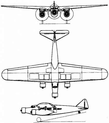 Fokker F.20 (Holland) (1933)