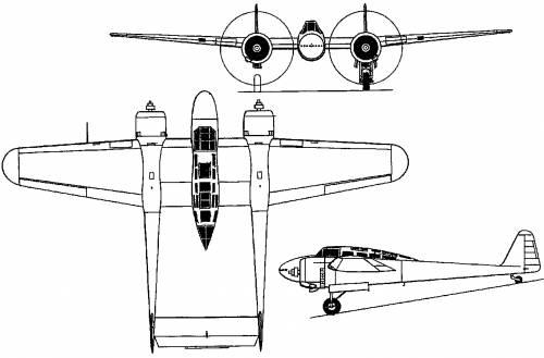 Fokker G I (Holland) (1937)