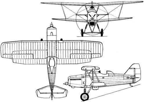 Tupolev ANT-13 / I-8 (1930)