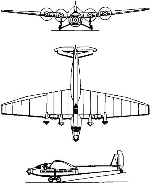 Tupolev ANT-14 Pravda  (1931)