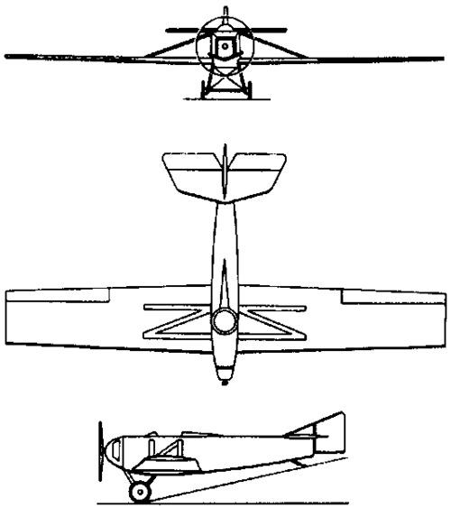 Tupolev ANT-1  (1923)
