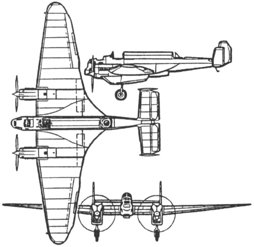 Tupolev ANT-21 (MI-3) (1933)