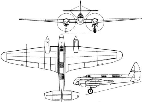 Tupolev ANT-21bis (MI-3D) (1934)