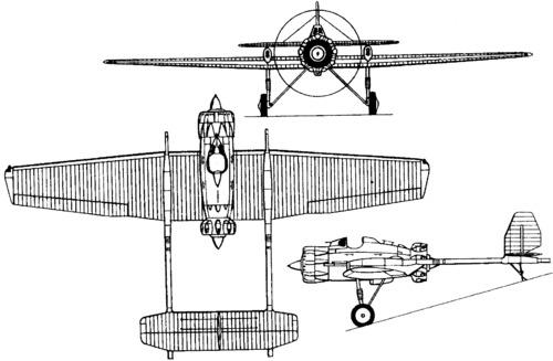 Tupolev ANT-23 (I-12)  (1931)