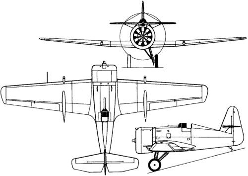 Tupolev ANT-31 (I-14) (1933)