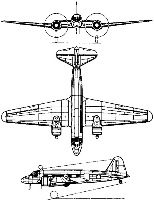 Tupolev ANT-35 / PS-35  (1936)