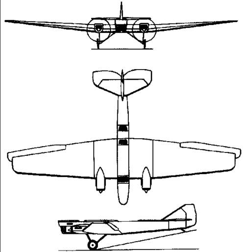 Tupolev ANT-4 / TB-1  (1925)
