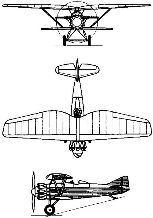 Tupolev ANT-5 / I-4  (1927)
