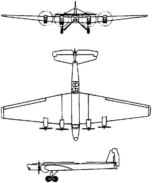 Tupolev ANT-6 / TB-3  (1930)