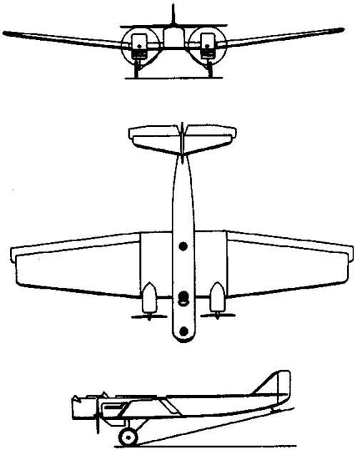 Tupolev ANT-7 / R-6  (1931)