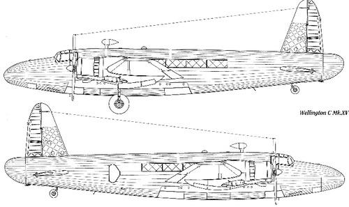 Vickers Wellington C Mk XV