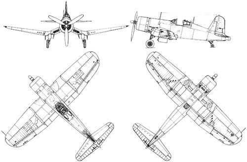 Vought F4U-1 Corsair (Early)