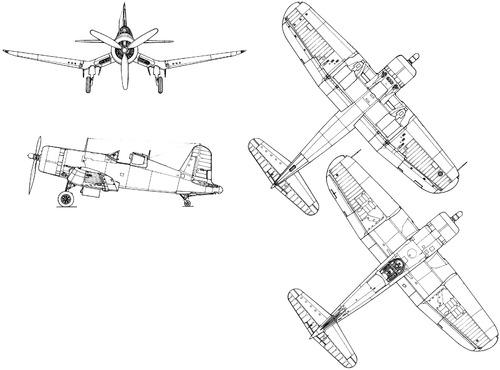 Vought F4U-1 Corsair (Late)
