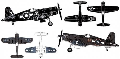 Vought F4U-1D Corsair Mk.IV