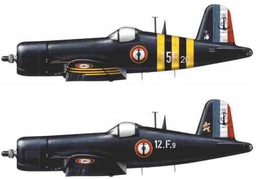 Vought F4U-7 Corsair