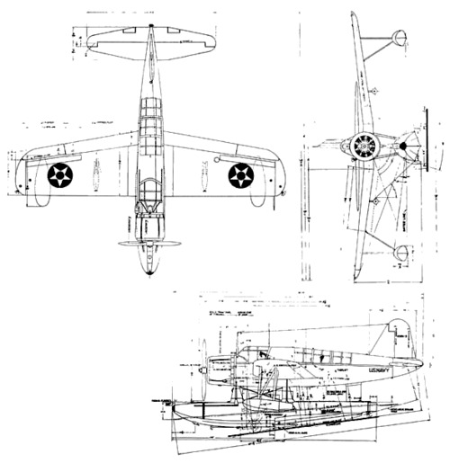 Vought OS2U - 1 2 3 Kingfisher